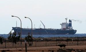 Libya oil tanker morning glory