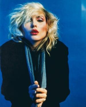 Blue Debbie Harry by Mick Rock
