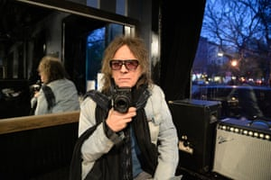 Mick Rock holds the Nikon Df as he revisits the places that inspired his early work