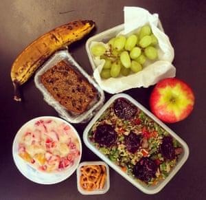 Caroline's lunch
