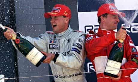 Coulthard and Irvine