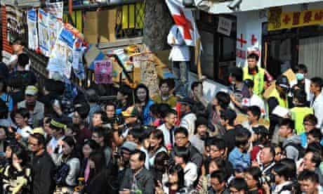 Taipei protests