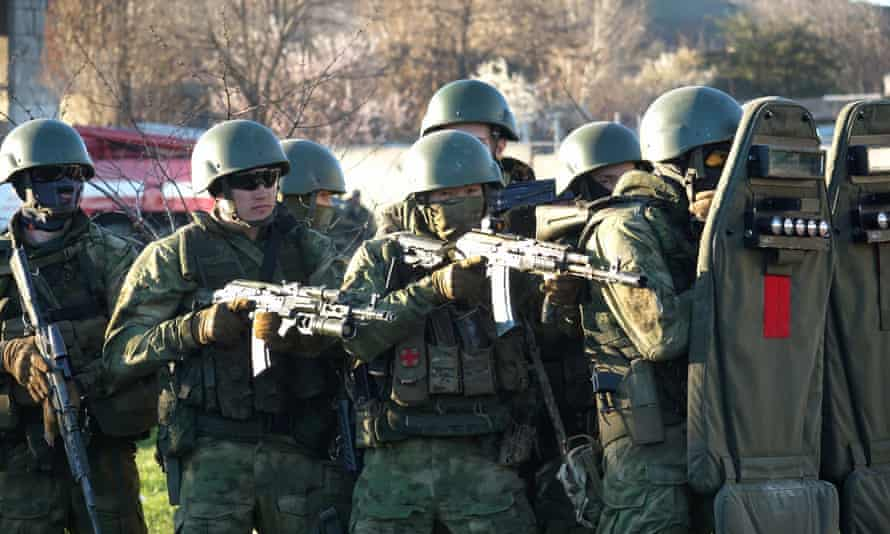 russian special forces ukraine