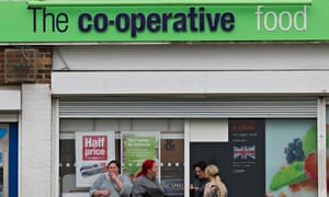 The co-op food store at Higher Folds, Leigh, Greater Manchester