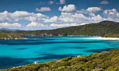 Tuerredda beach in Sardinia, Italy