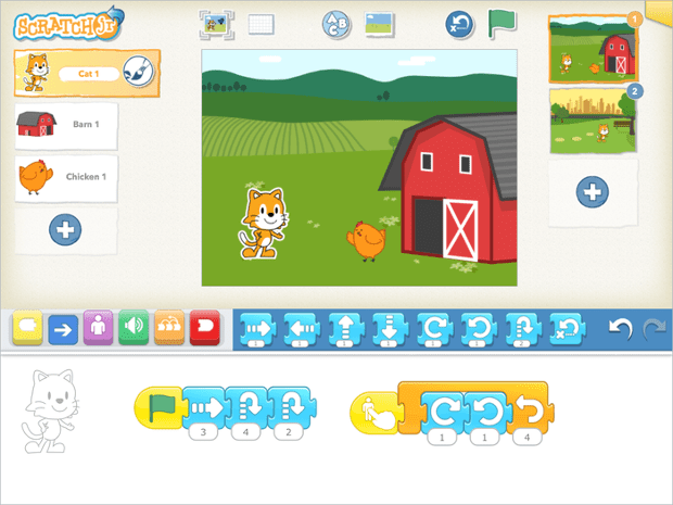 ScratchJr: 'Children aren't just learning to code, they are coding to learn'