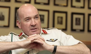 Lord Dannatt, when he was chief of the general staff, 2008.