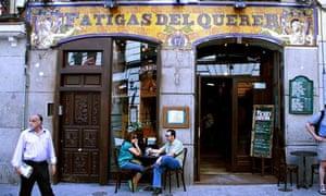 Fatigas del Querer tapas bar in Madrid