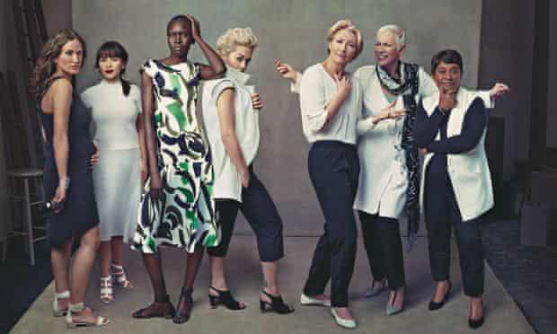 Women of substance … Lulu Kennedy, Rachel Khoo, Alek Wek, Rita Ora, Emma Thompson, Annie Lennox and Dore