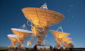 Moonlight on very large array telescopes