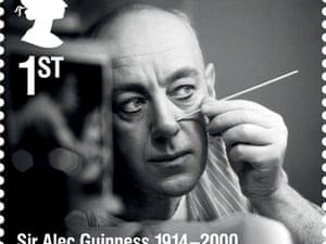 Actor Sir Alec Guinness.