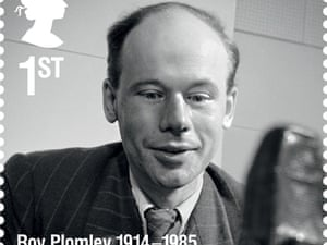 Broadcaster Roy Plomley.