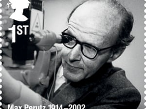 Molecular biologist Max Perutz.