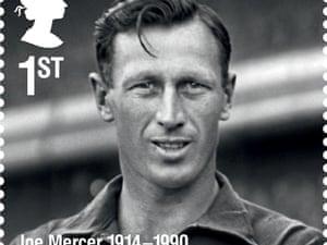 Footballer and manager Joe Mercer.