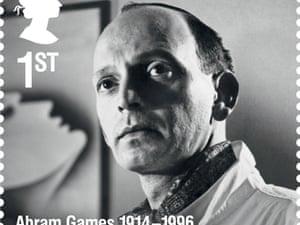 Graphic designer Abram Games.