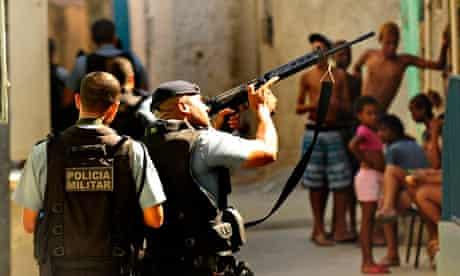 Forensic Experts Scour UPP Crime Scene In Rio De Janeiro