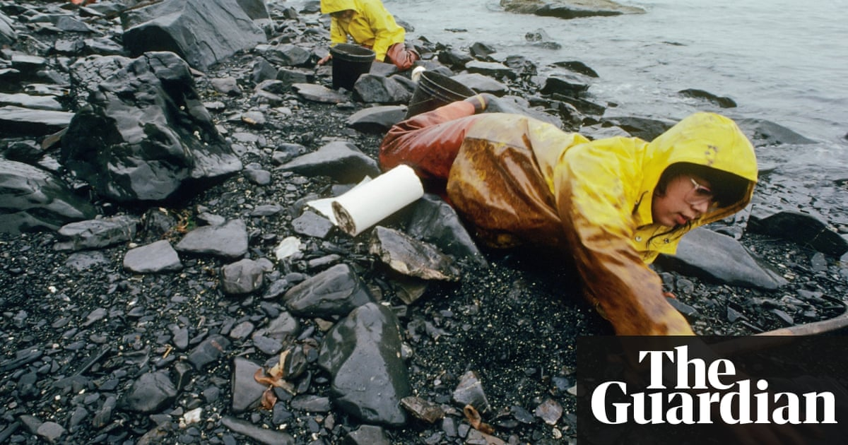 a research on the exxon valdez oil spill