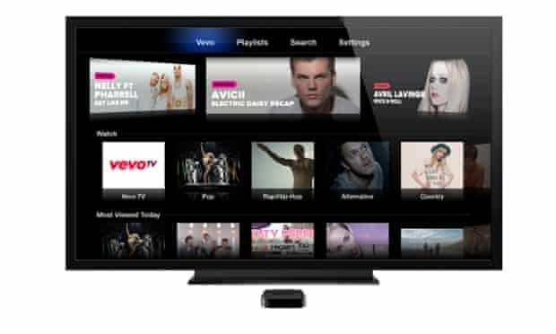 Music videos service Vevo is available on Apple TV already.