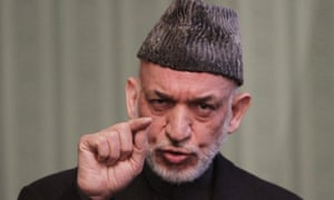 """Afghan President Hamid Karzai, who has said that """"Afghanistan respects the free will of the people of Crimea to decide about their own future""""."""
