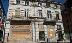 Some buildings are left to deteriorate until they have to be pulled down for safety reasons – with high-rises appearing in their place