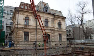 Maths professor Nicusor Dan reckons a thousand historical buildings are in danger in Bucharest, with just 26 strengthened in 20 years