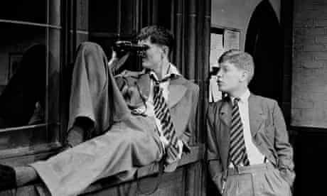 Rupert Everett and Kenneth Branagh in Another Country, 1982