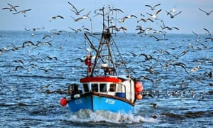 The last fishing boat to operate out of Great Yarmouth, the 'Eventide'