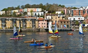 Canoeing the harbour