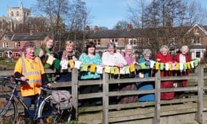 Women's Institute Tour de Yorkshire bunting 2014