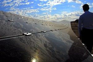 Corporate green energy: Intel solar project in Folsom, California