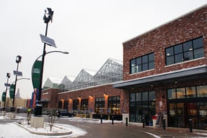 Whole Foods wind turbines and solar panels