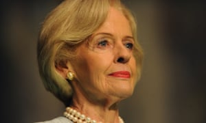 Governor General Dame Quentin Bryce during a farewell reception at Parliament House in Canberra, Tuesday, March 25, 2014.