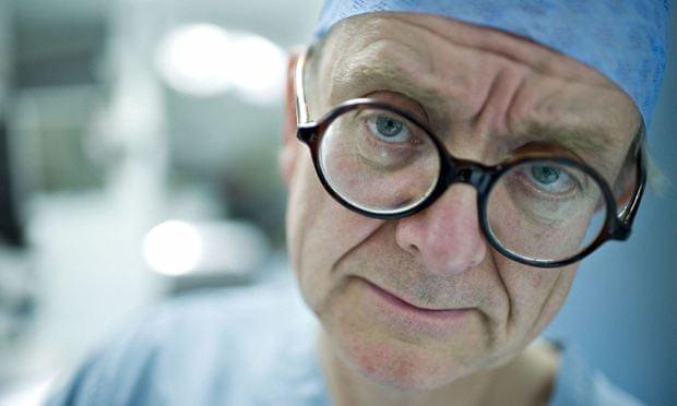 Neurosurgeon Henry Marsh.
