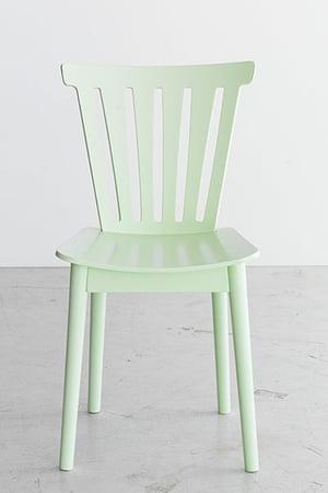 Homes - Wishlist: green dining chair