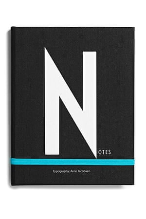 Homes - Wishlist: black book with letter N on cover