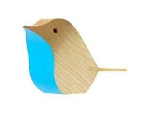 Homes - Wishlist: wooden blue bird
