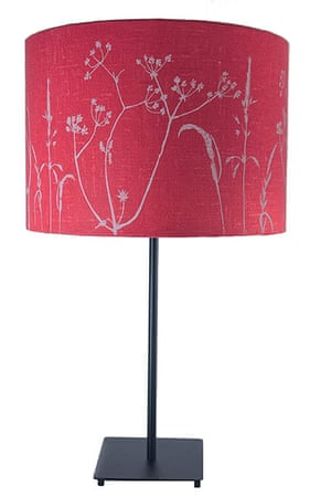 Homes - Wishlist: lamp with red shade