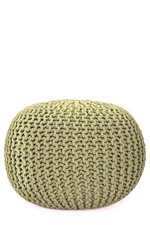 Homes - Wishlist: green knitted pod