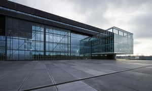Turbine hall of denim … OMA's new headquarters for Dutch jeans brand G-Star Raw in Amsterdam. Photograph: OMA/G-Star Raw