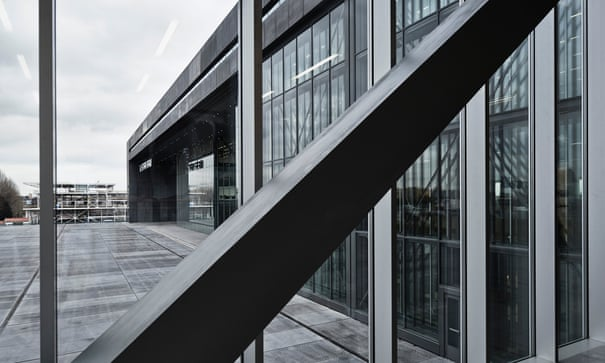 Rem Koolhaas's G-Star Raw HQ is like 'two brands having