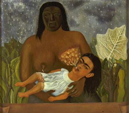 My Nurse and I or Me Suckling by Frida Kahlo (1937)