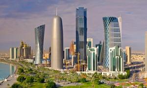 Doha's impressive skyline