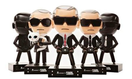 Karl lagerfeld dolls