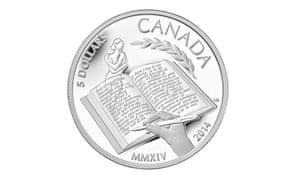 Alice Munro coin, Canada