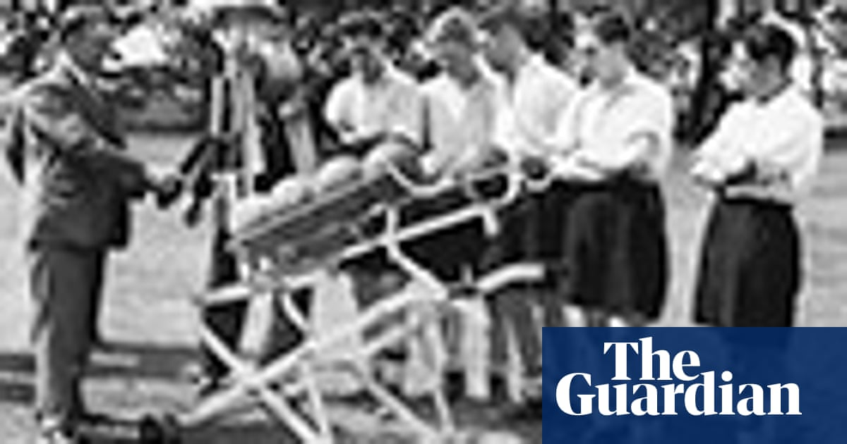 Football training in days gone by – in pictures   Football