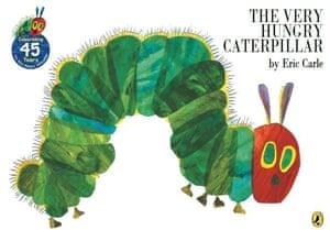 Hungry caterpillar: 45 anniversary