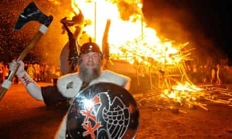 Up Helly Aa, Fire Festival , Shetland , Lerwick. Image shot 2010. Exact date unknown.