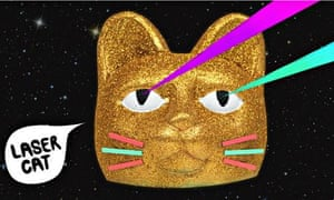 Laser Cat by Hungry Castle