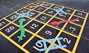 Snakes and ladders green games