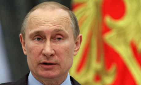 Russian President Vladimir Putin Attends An Award Ceremony At The Kremlin